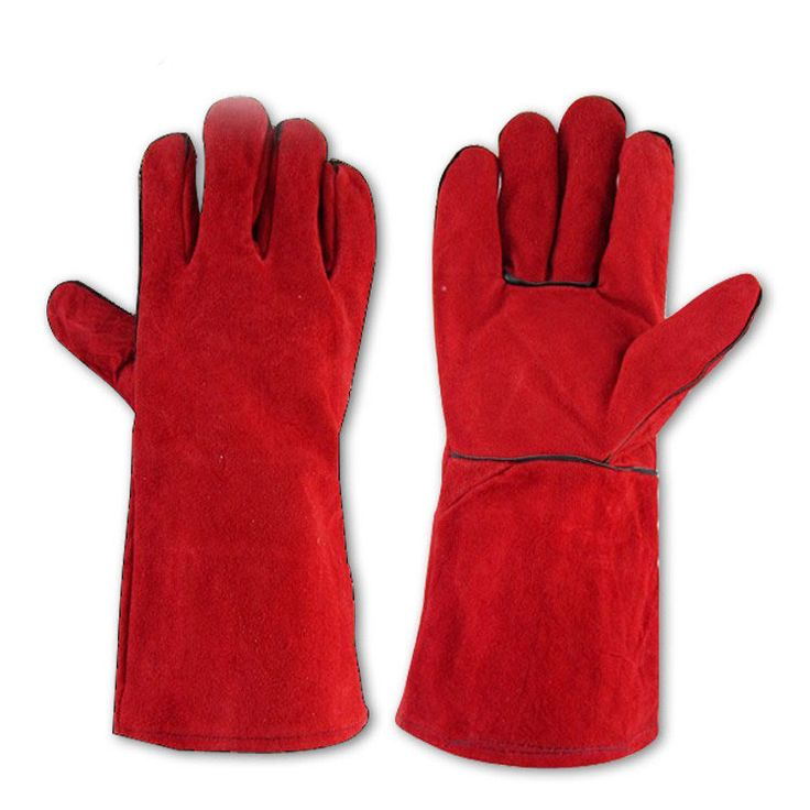 $8.49 (Buy here: https://alitems.com/g/1e8d114494ebda23ff8b16525dc3e8/?i=5&ulp=https%3A%2F%2Fwww.aliexpress.com%2Fitem%2FCowhide-welding-gloves-welder-s-cowhide-high-temperature-resistance-wear-resistant-wear-resistant-work-gloves-Insulation%2F32708229337.html ) Cowhide welding gloves Full Lining Thick Gloves High-Temperature Resistant Stab layer Labor Insulation glove Red for just $8.49