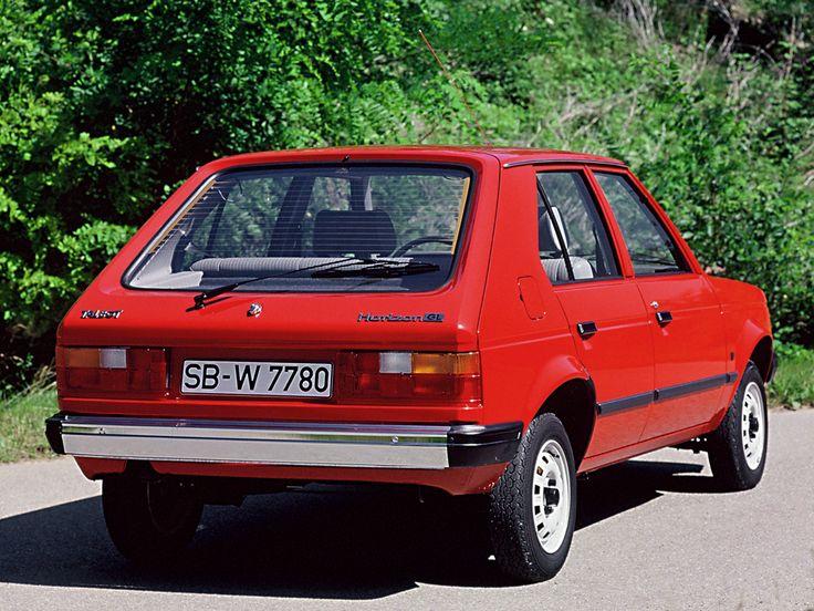 Talbot Horizon GL - 1979