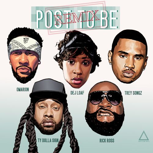 Omarion Ft Dej Loaf, Trey Songz, Ty Dolla $ign & Rick Ross – Post To Be (Remix)