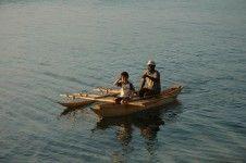 boat ride in Vanuatu
