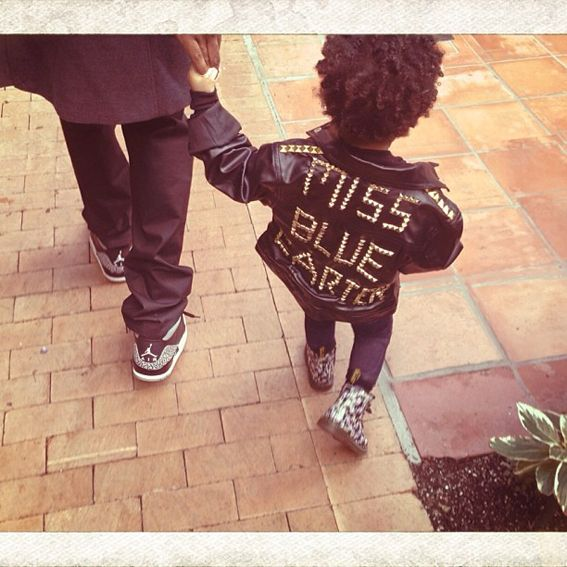 Blue Ivy Carter's Cutest Instagram Photos - Blue Ivy Opts for Edgy  - from InStyle.com