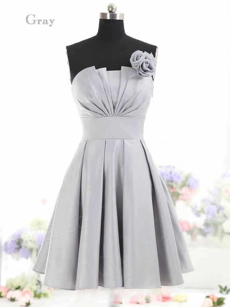 Gray Grey Bridesmaid Dress   $64   eBay   wedding ceremony reception bridesmaids maid of honor