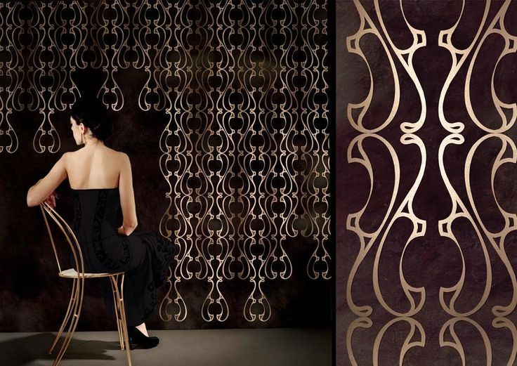 MEYSTYLE WALLPAPERS Materials: Swarovski Crystal + LED Lights Dimensions:  Per Project Options: *