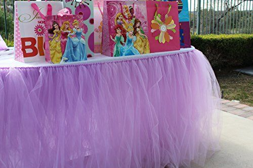 Material: 100% high quality tulle Size: 1 yard 91.5 cm -100 cm (L) x 80 cm (H)  Package:1 x tutu table skirt and 1 M Velcro Our table skirt will create a soft and luxury atmosphere to your party and add romance to your special event,Simply spray a little water and pat with your hands, then you... see more details at https://bestselleroutlets.com/home-kitchen/kitchen-dining/product-review-for-handmade-tutu-table-skirt-tulle-tableware-for-baby-shower-birthday-party-wedding-even