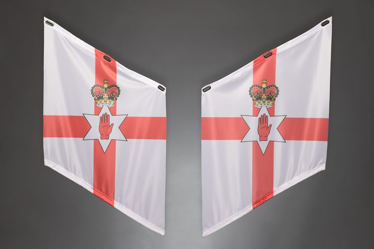 Fahnen | Armfahnen | flags | armflags | Fanartikel | Merchandising | Nord Irland, North Ireland für 14,95 Euro