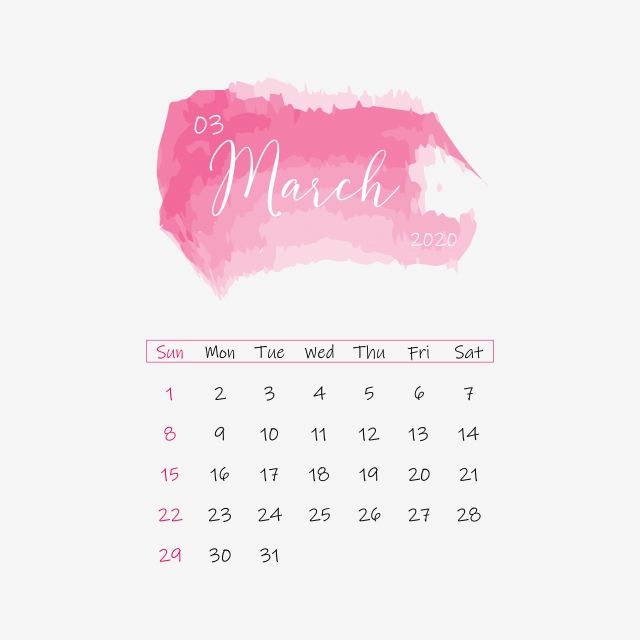 March 2020 Calendar Clipart Vector Png Element November2020 Cute Frame Png And Vector With Transparent Background For Free Download Calendar Clipart July Calendar Calendar Wallpaper
