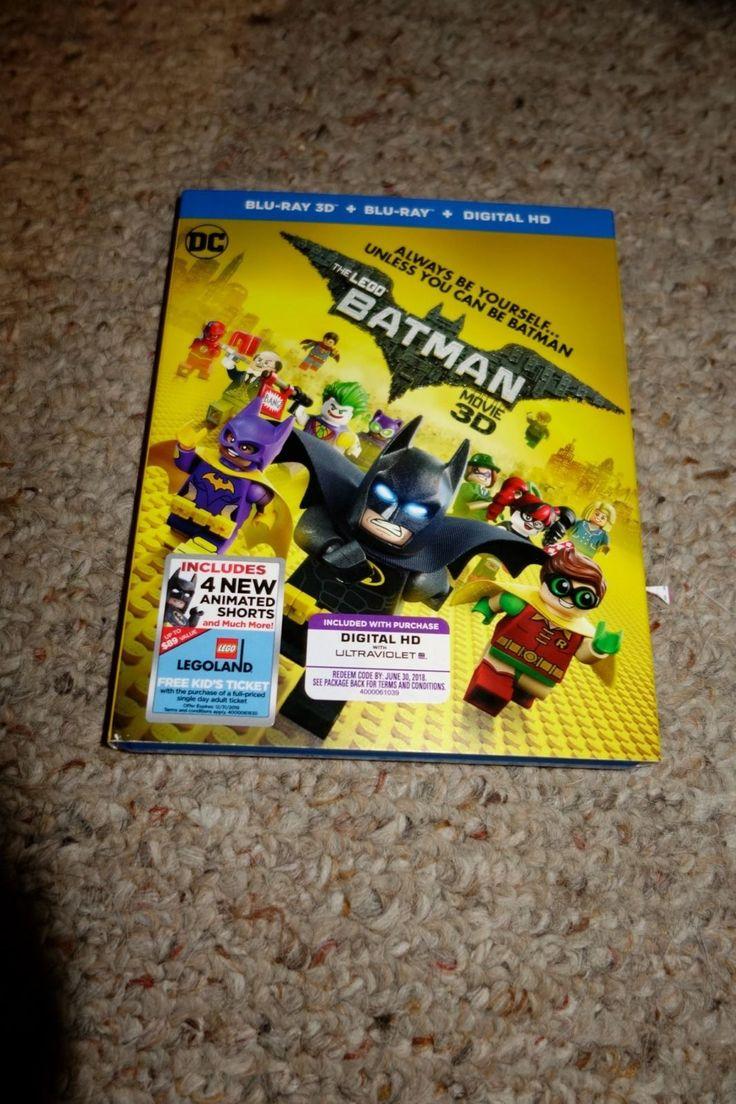 Animal instincts dvd zavvi com - The Lego Batman Movie Blu Ray Disc 2017 2d 3d