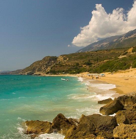Koroni beach - Kefalonia , Greece / by John Georgiou via Flickr