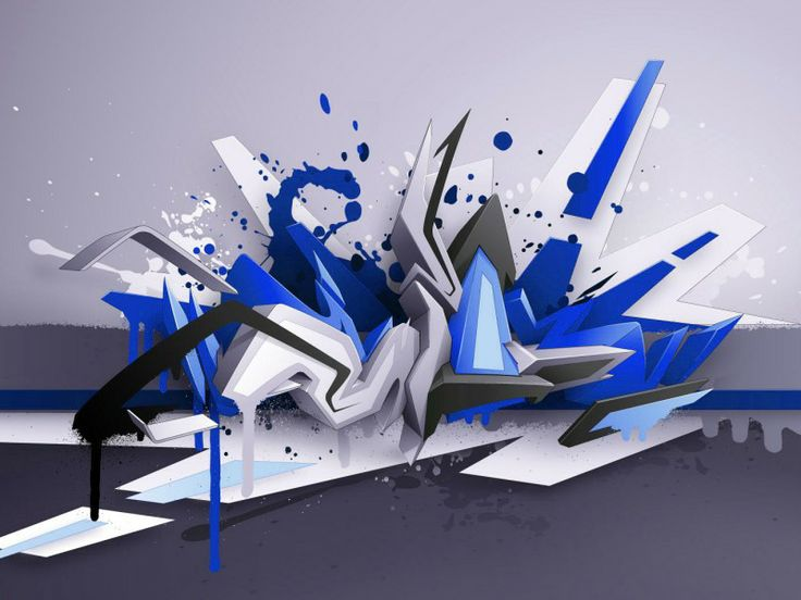 3d graffiti art 3d 3d graffiti wallpaper foto wallpaper for Immagini graffiti hd