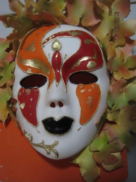 Sugar Venetian Carnival Mask Cake Topper by Tania Riley. Johannesburg, South Africa, 0829316200