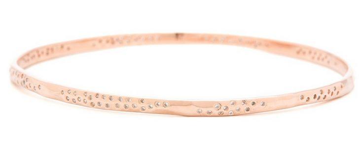 Gorjana rose gold bangle. Very Alexis Bittar but way more affordableRose Bangles, Gorjana Rose, Jewelry Rose, Fashion Inspiration, Mom Pick, Rose Gold, Gorjana Jewelry, Gold Bangles, Alexis Bittar