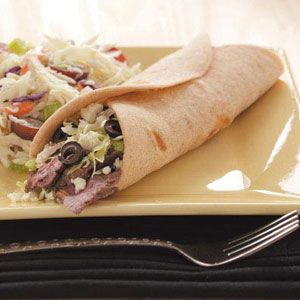 Flatbread Wraps Recipe - healthy and easy recipe for making your own wrap bread