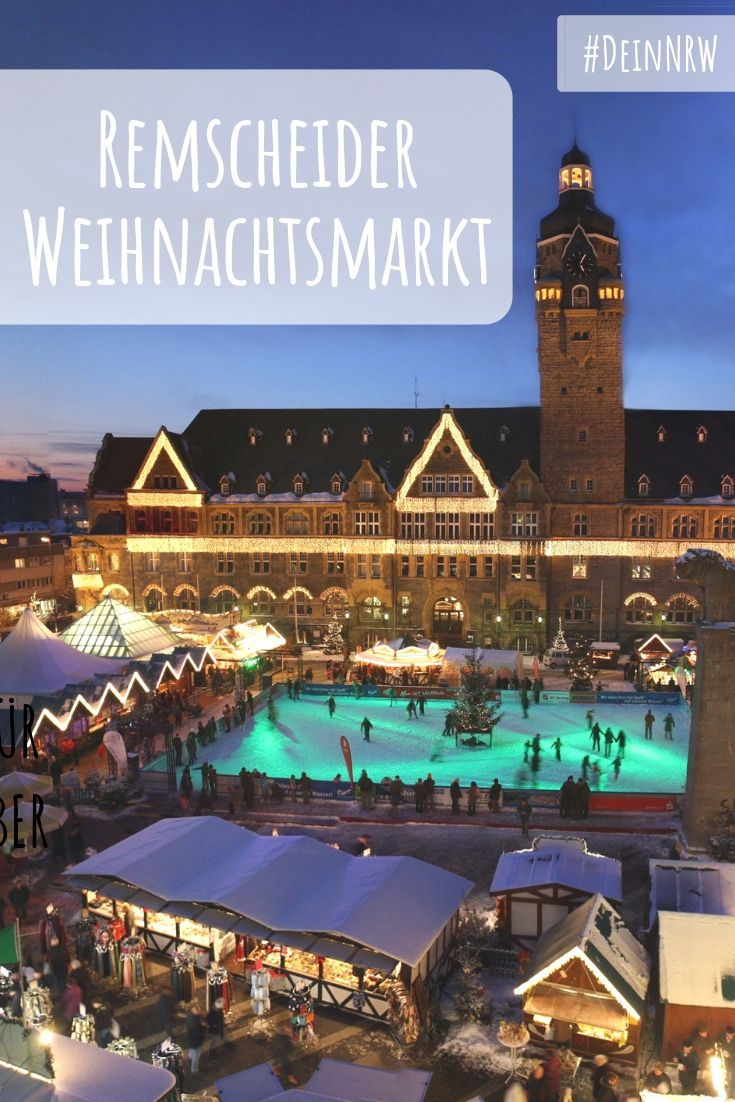 Schlittschuhlaufen Berlin Weihnachtsmarkt.Eine Große Eisbahn Ist Das Highlight Des Remscheider