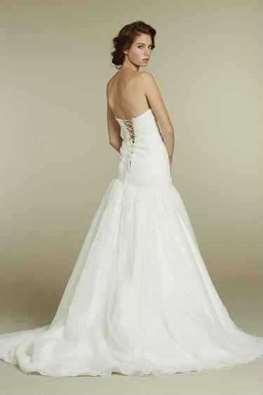 Как связать платье без бретелек