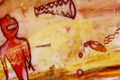 Un gruppo di antropologi, che lavorava con le tribù di montagna in una zona remota dell'India, ha fatto una scoperta sconvolgente: pitture rupestri preistoriche, che raffigurano extraterrestri e velivoli simili agli ufo.
