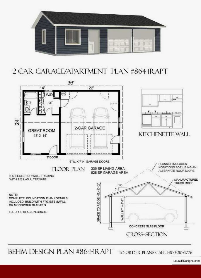 Garage Workshop House Plans And Diy Toy Workshop Diyworkshop Workshopideas Garage Apartments Garage Plans Garage Shop Plans