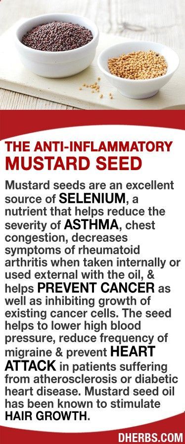 Mustard seeds are an excellent source of selenium, a nutrient that helps reduce the severity of asthma, chest congestion, decreases symptoms of rheumatoid arthritis, & helps prevent cancer as well as inhibiting growth of existing cancer cells. The seed helps to lower high blood pressure, reduce frequency of migraine & prevent heart attack in patients suffering from atherosclerosis or diabetic heart disease. Mustard seed oil has been known to stimulate hair growth. #dherbs #healthtips