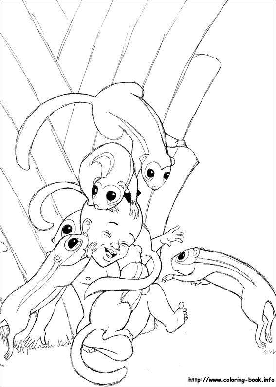 kirikou coloring pages - photo#13