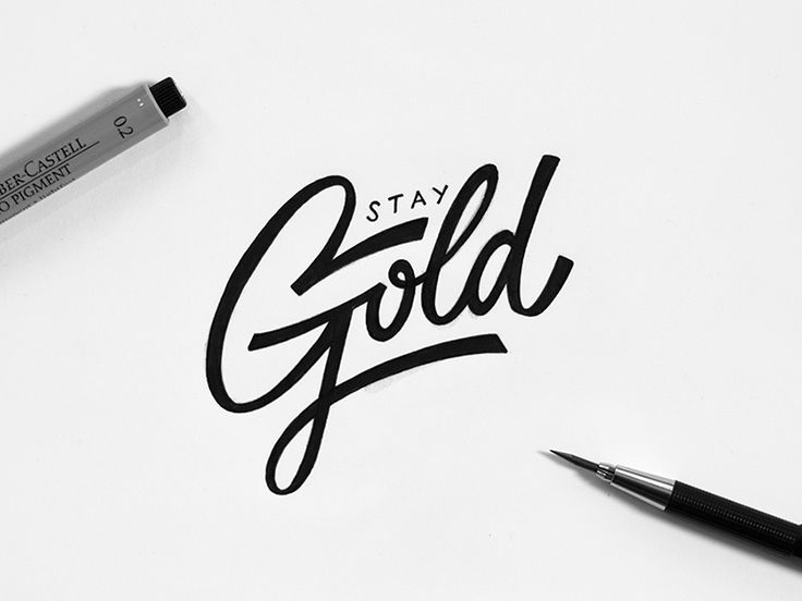 Dribbble - Stay Gold by Max Pirsky