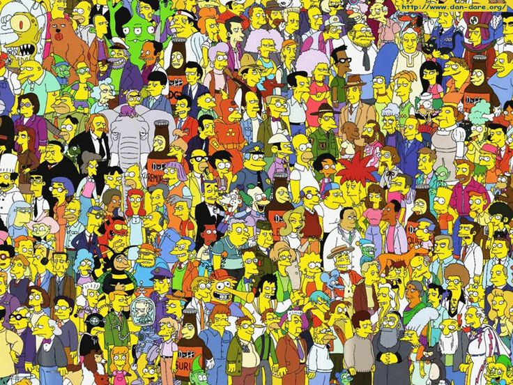 All the Simpsons characters