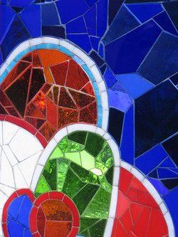 Niki de Saint Phalle mosaic detail