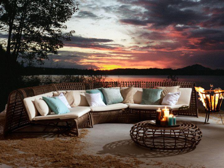 WAVE Lounge Garten Loungegruppe 8 Teilig Applebee | Poly Rattan Braun  #garten #gartenmöbel