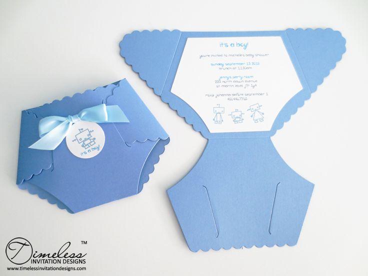25 Best Ideas about Diaper Invitation Template – Diaper Invitation