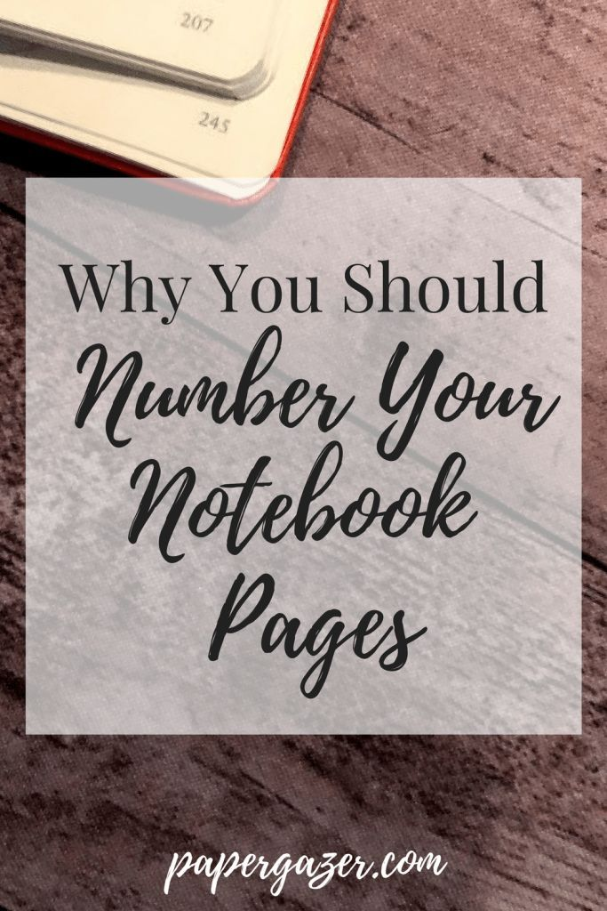 Numbering my notebook pages has helped me stay organized and minimize stress. This is a great bullet journal trick that I've applied to all note taking papers in my life! You should definitely try this! Check it out on The Paper Gazer!