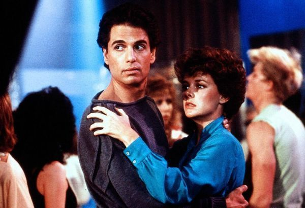 "Chris Sarandon & Amanda Bearse // Fright Night. In the infamous ""Dance Sequence"" The actors Chris Sarandon and Amanda Bearse were actually swaying to the theme song ""Come to Me"" by Brad Fiedel on the set to give the seduction scene that comes later extra ambiance. via IMDB"
