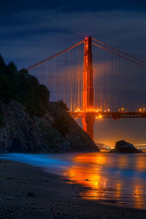 Golden Gate from San Francisco, California