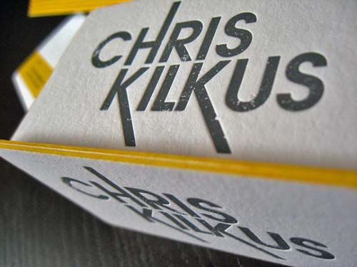 Creative Examples of Edge Painted Business Cards