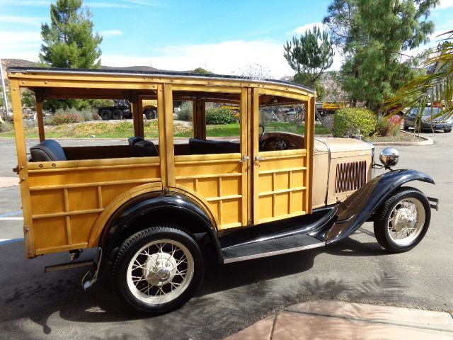for sale 1931 ford model a woody station wagon suburban hot rod hotline classifieds. Black Bedroom Furniture Sets. Home Design Ideas