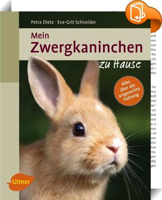 Mein Zwergkaninchen zu Hause    ::  Rabbits Small, easy to keep and plush - these features make these cute rabbits the perfect pet. This guide will show you what you need to consider when buying and taking it home. With lots of tips about proper nutrition, care, games and health.