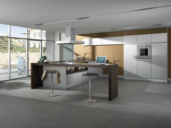 минималистская кухня S2 в интерьере