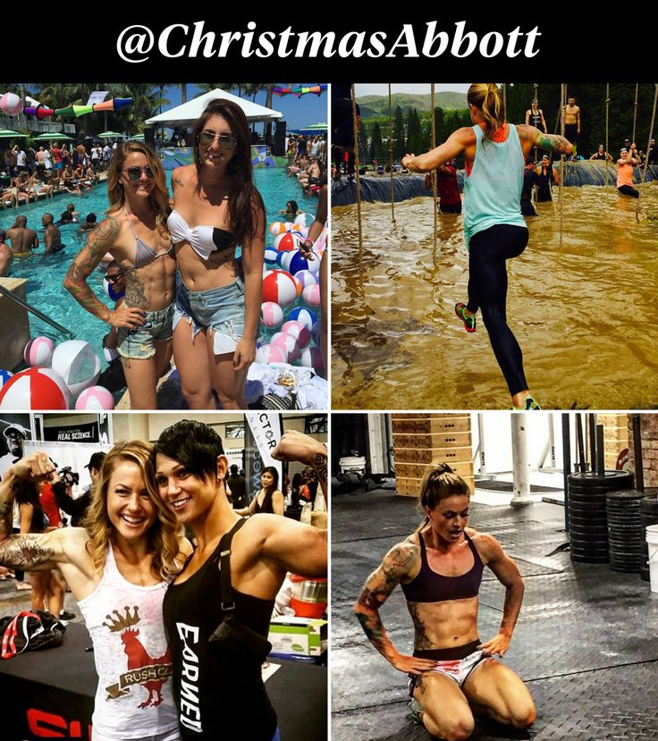 Christmas Abbot, @ChristmasAbbot: With more than 245,000 followers, the CrossFit competitor and Olympic lifter posts photos and videos of herself lifting insanely heavy shit. Find out more about her and the 18 other top fitness stars on Instagram.