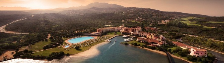 "The Costa Smeralda, on the eastern coast of Sardinia, became famous during the 1960s when the Aga Khan bought it and convinced his jet-set friends to start building villas and a yacht club on the beautiful, but previously undeveloped, island. The coast also served as the backdrop to the 1977 James Bond film ""The Spy Who Loved Me."" One of the Aga Khan's acquisitions was the 100-room Hotel Cala di Volpe, where the late Princess Margaret celebrated her 37th birthday in 1967. #travel"