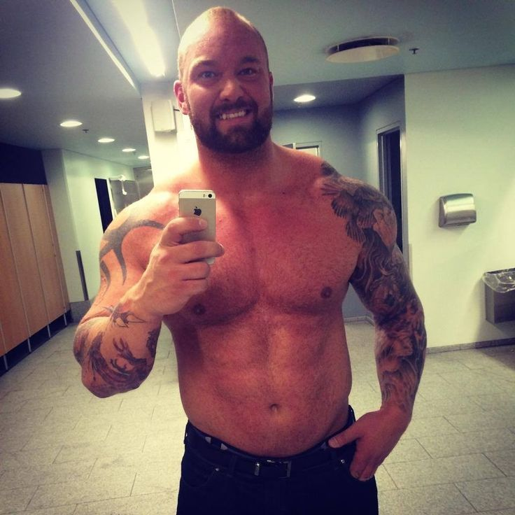 hafthor bjornsson tattoo eye candy pinterest search
