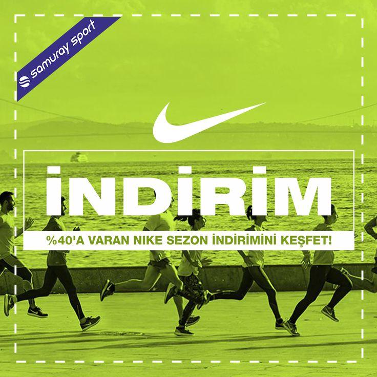 %40'a varan Nike sezon indirimini keşfet! www.samuraysport.com#nike #sale #shoes #newseason #indirim #sport #samuraysport