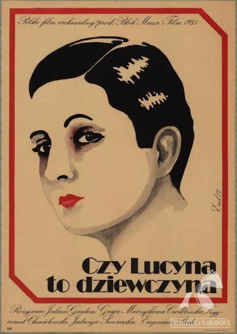 Czy Lucyna to dziewczyna?/Is Lucyna a girl? - Polish comedy, 1934 #movies #posters #Polish #Poland #1930s