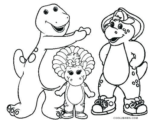 Barney Coloring Pages Printable Trend Barney Printable Coloring ...