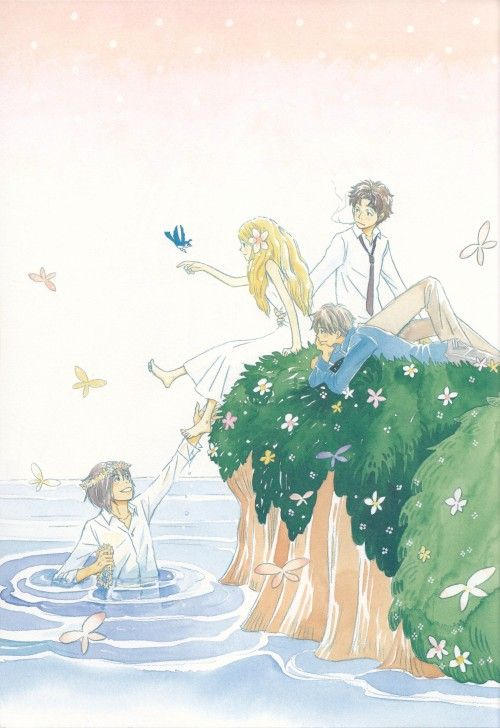 Chika Umino, Honey And Clover, Yuuta Takemoto, Hagumi Hanamoto  I am so much like Hagu!