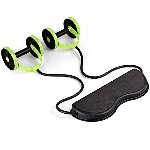 Gym Abdominal Abs Roller Waist Wheel Handle Workout Machine Fitness Exercise *** For more information, visit image link.