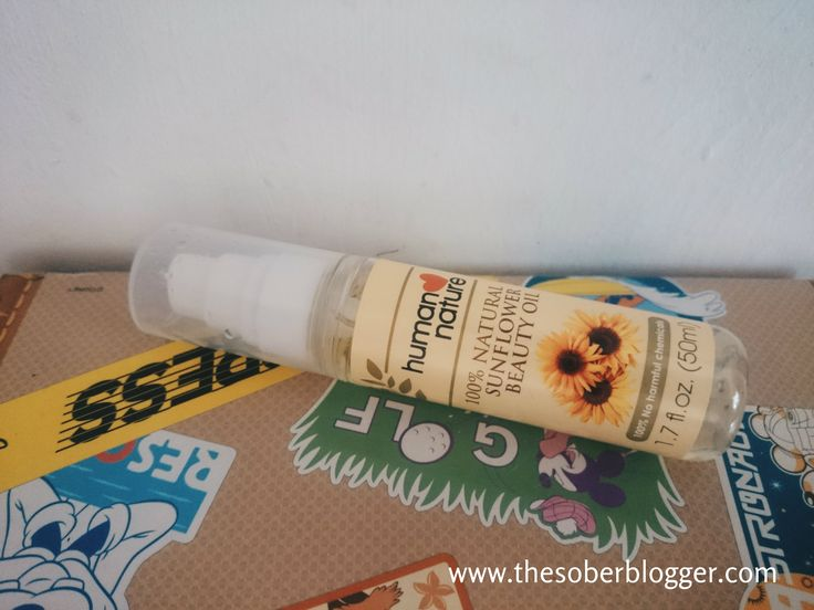 Human Nature Sunflower Beauty Oil Review