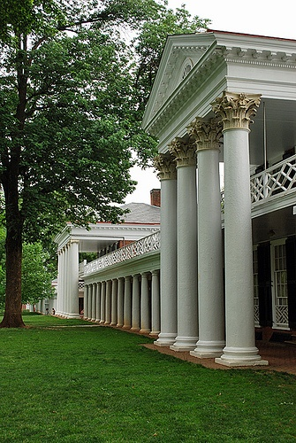 My stepsister went to UVA, and I loved going in the fall--The Lawn is one of the most beautiful places I've ever seen in my life.