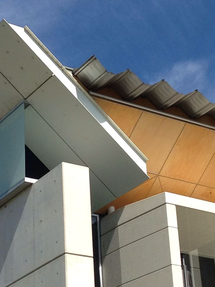 Aramax roof sheet @ National Portrait Gallery, Canberra