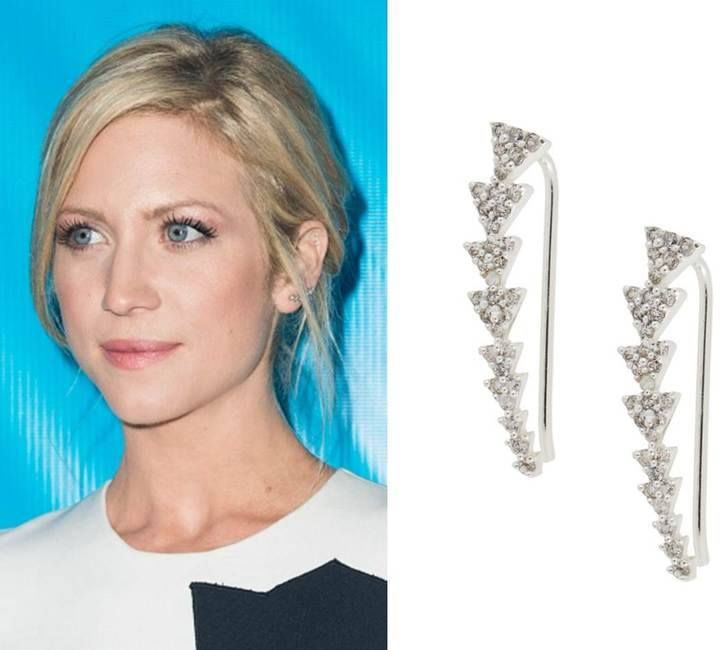 Stella & Dot Ear Climbers as seen on actress Brittany Snow