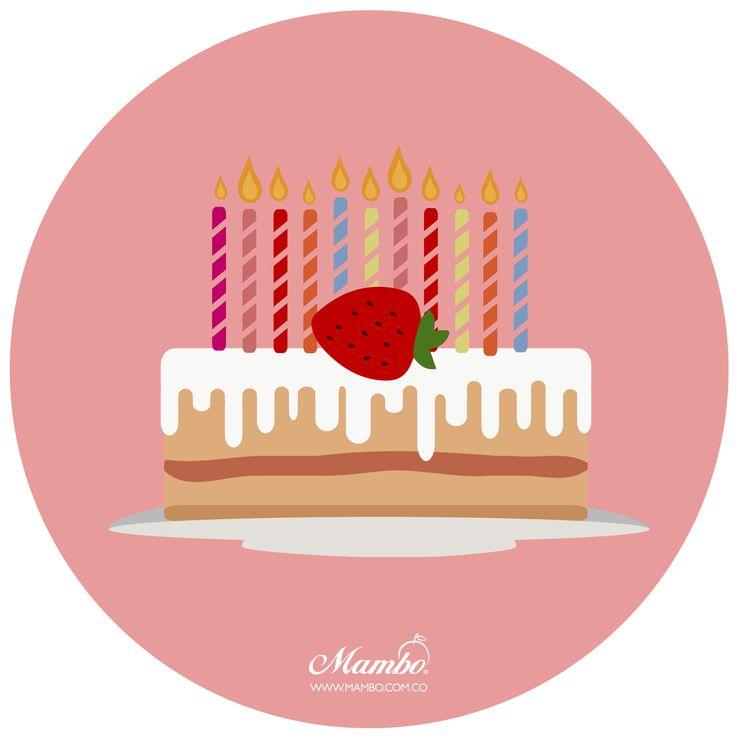 MAMBO 11 ANIVERSARIO http://www.mambo.com.co  #pie #tarta #cake #birthday