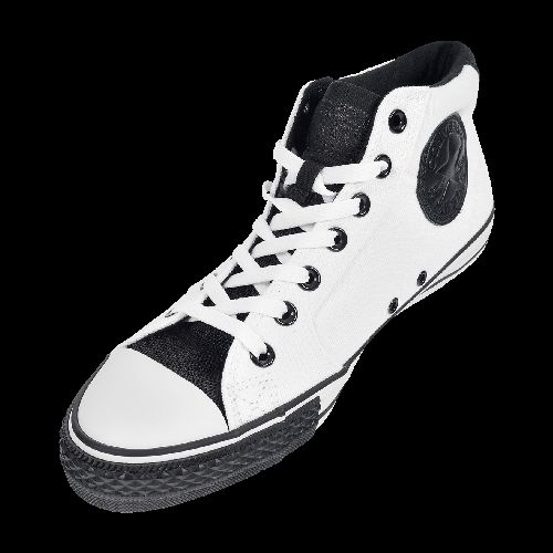 CONVERSE CHUCK TAYLOR BLACK OUT MID now available at Foot Locker