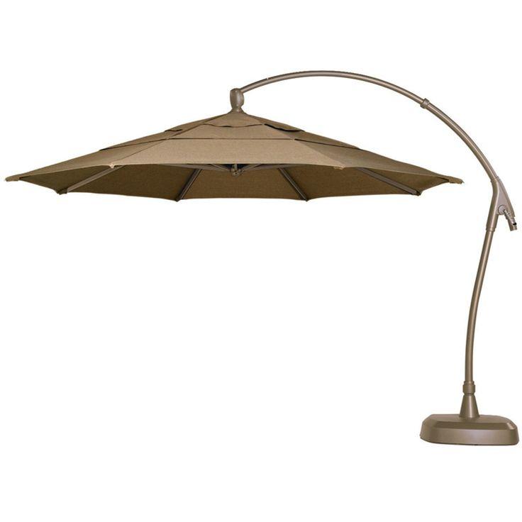 11 Cantilever Patio Umbrella With Base