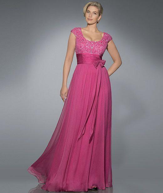 Vestidos largos para señoras gorditas ¡Ideas de Modelos grandiosos!   101 Vestidos de Moda   2017 - 2018